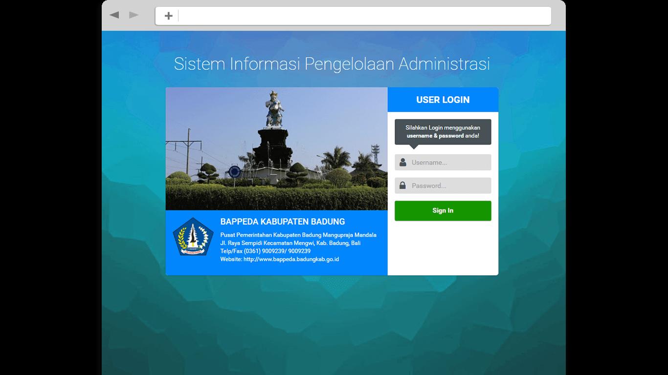 Digital Artisans - Sistem Informasi Pengelolaan Administrasi SIPA